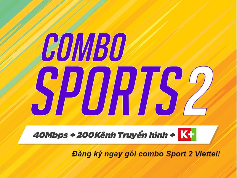 Gói cước combo Sport 2 Viettel