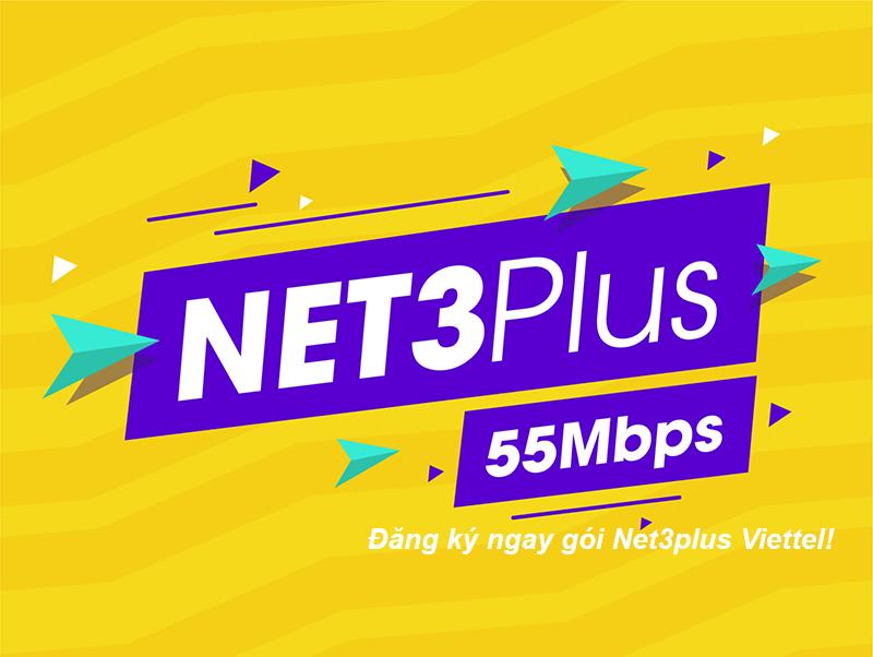 Đăng ký gói Net3plus Viettel