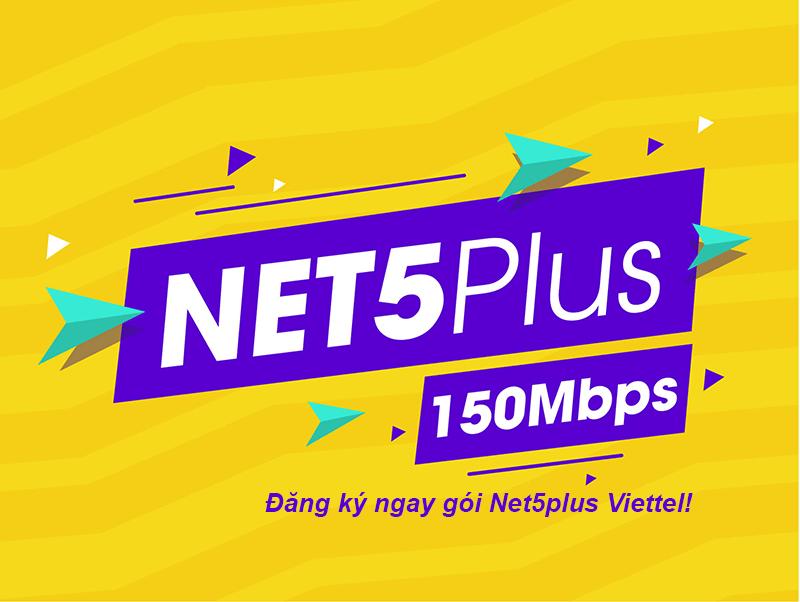 Gói Net5plus Viettel