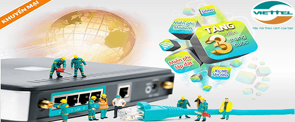 Lắp đặt internet cáp quang Viettel ở Hà Nội