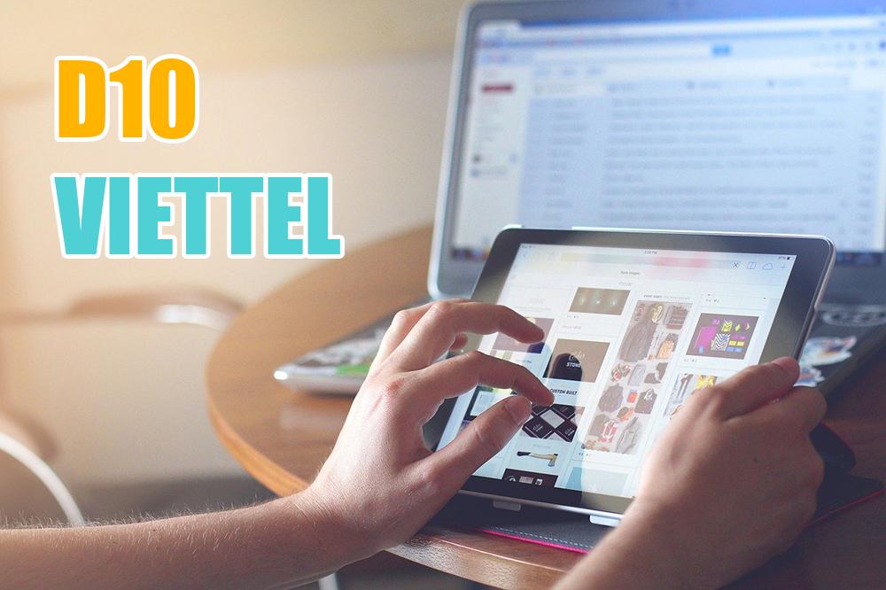 Đăng ký gói D10 Viettel nhận 3GB/ngày